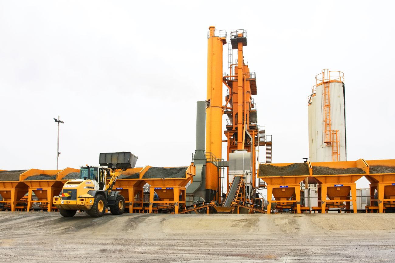 Fixed asphalt mix plant, type Kremenciug